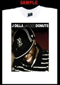 Dilla Custom T Shirt Tee Jay Dee Hip Hop Jdilla 236