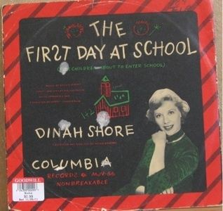 Dinah Shore First Day at School Columbia 10 78