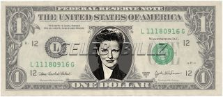 Vivien Leigh Dollar Bill Mint Real $$ Celebrity Novelty Collectible
