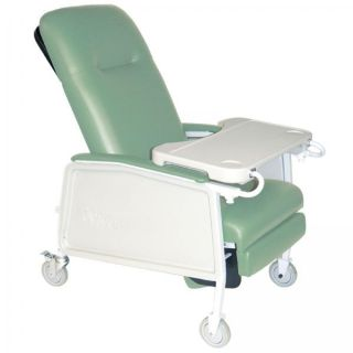 Drive Medical 3 Position Geri Chair Recliner Lift Chair 250lb Cap Jade