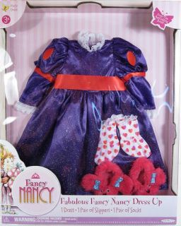 Party Dress Outfit for Fancy Nancy Doll NIP 3 Play Set