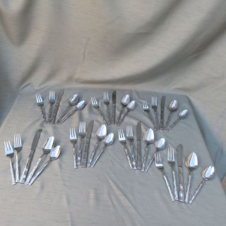 Mix 20-Piece Flatware Set in Flatware Patterns | Crate and Barrel