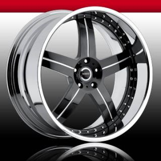 22 MHT Dub Wheels Rims Mercedes s CL asanti Giovanna