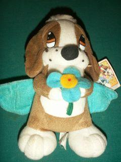 Nanco 8 Sad Sam Honey Puppy Dog Plush RARE Toy Animal