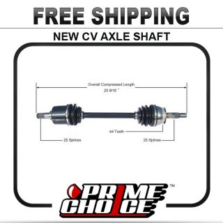 Complete CV Joint Axle Shaft Assembly for Front Left Driver Side LH