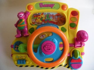 Dinosaur Interactive Driving Talking Steering Wheel Toy Works Great