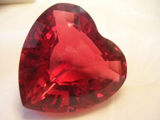1998 ScS Renewal Red Crystal Heart ~ LIMITED EDITION **VALENTINE DAY