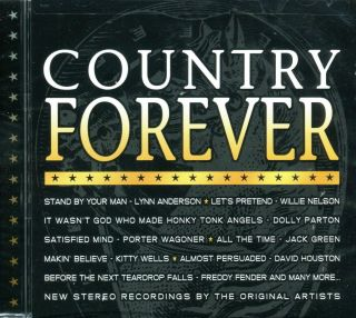 Country Forever Direct Source CD 2004 Dolly Parton Wiilie Nelson More