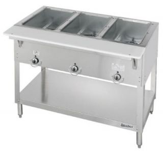 Duke 303 LP   Aerohot Steamtable Hot Food Unit, 3 Wells & Carving