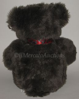 Vintage 1991 Plush Brown Gund Baxter Teddy Bear Stuffed Animal Childs