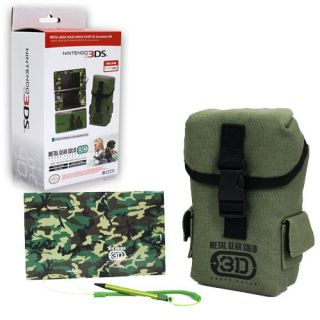 3DS Bundle Metal Gear Solid Snake Eater Accessory Set Hori