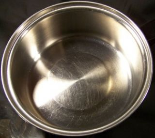Vintage Duncan Hines Stainless Steel Sauce Pan Cooking Pot w Lid