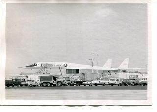 Vtg North American XB 70 Valkyrie Photo #4 Photograph 5 x 7 Bomber