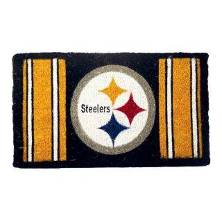 Pittsburgh Steelers Coir Fiber Artisan Welcome Door Mat