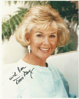 Doris Day 1996 Original Autograph and envelope (see invoice) Excellent