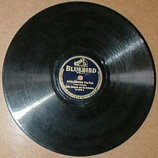 DUKE ELLINGTON pre war jazz 78 record Bluebird B 6306 Harlemania 1929