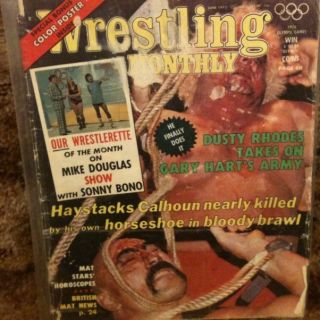 Monthly Magazine June 1975 Dusty Rhodes Sonny Bono WomenS