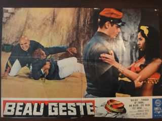 Movie Poster Beau Geste Guy Stockwell Doug McClure Savalas 1966