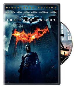 The Dark Knight DVD 2008 Widescreen DVD 2008