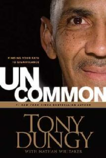 Tony Dungy 2 Books Uncommon Mens Bible Study Guide 1414326823