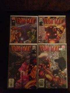 Iron Man Legacy of Doom 1 4 Complete Set Doctor Doom