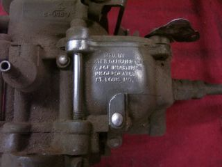 Carter Carburetor 1 bbl Carb Hot Rat Rod Dodge Slant 6