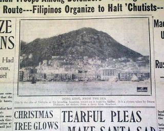 Kong Douglas MacArthur Made General 1941 World War II Newspaper