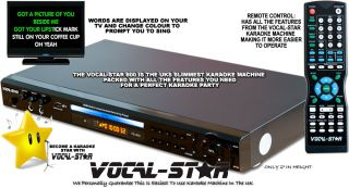 Party Vocal Star HDMI CDG DVD Karaoke Machine Player 350 Songs 2