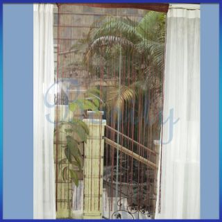 Fringe Door Window Panel Room Divider Hanging String Curtain Strip