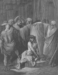 engraving in top condition title the flagellation artist gustave dore