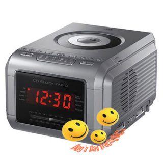 Durabrand CDR 1907 CD Clock Radio w Alarm LED Display