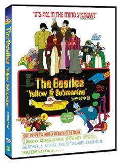 Yellow Submarine 1968 The Beatles DVD New