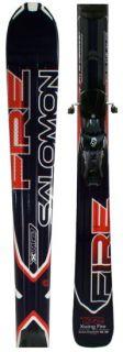 Salomon 158cm XWing Fire Downhill Skis & L10 Bindings 2012 X Wing Free