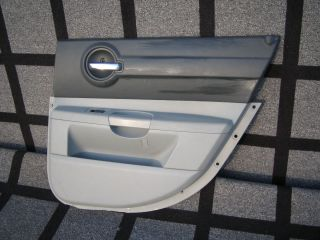 Dodge Charger Rear Door Interior Panel Trim 2006 2007 RH