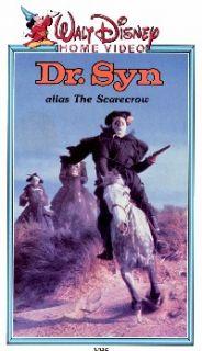 Dr Syn Alias The Scarecrow VHS Disney Patrick McGoohan