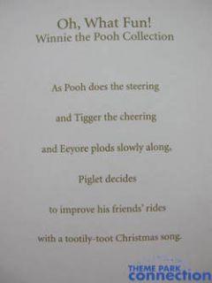 Hallmark POOH Oh, What Fun Christmas 2007 Tree Ornament Eeyore Piglet