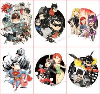 Dustin Nguyen Poison Ivy Batman Catwoman Joker Detective Comics 2010