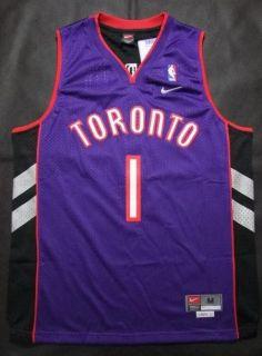 Toronto Raptors Tracy McGrady 1 2000 Classics Thowback Jersey Purple