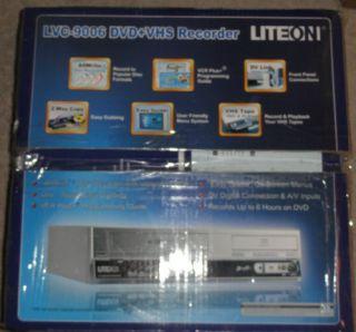 Lite On VCR Plus DVD Recorder Remote Control LVC 9016G in Box