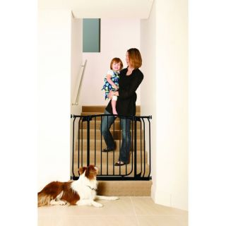 Dream Baby Swing Close Security Gate with Extensions Black L778B