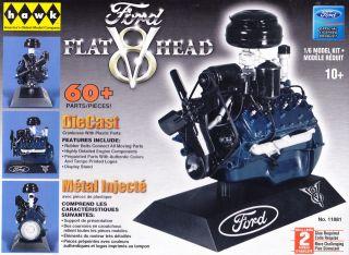 1948 Ford FlatHead Flat Head V8 Engine Hawk Model 11081 1 6 Scale NEW