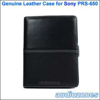 Leather Case Cover for Sony PRS 650 eReader Touch Edition eBook Reader