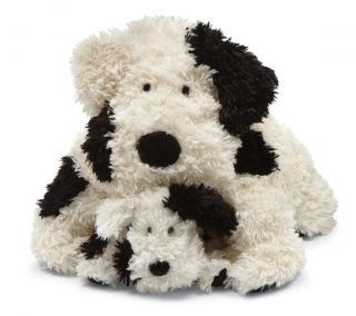 Jellycat Truffle Spot Dog Puppy Medium Stuffed Animal NEW Plush