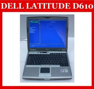 Laptop Notebook Pentium M 1 6 0HDD 512MB DVD Parts and Repair