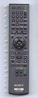 Replacement Sony DVD VCR Combo Remote Control RMTD249P 148070111 RMT