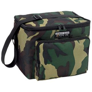 Camouflage Water Repellent Heavy Duty Lunch Cooler Bag