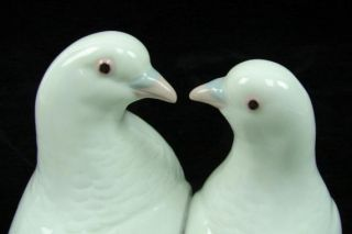 Lladro 1169 Doves Kissing Two Doves Wedding Birds Cake Topper