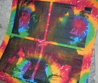 New Beatles Faces Tie Dye Tapestry Wall Decor John Paul