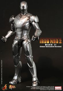 Hot Toys Ironman 2 Iron Man 2 Mark II Armor Unleashed 2 0 1 6 LED