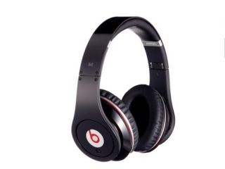 Monster Beats By Dr. Dre Studio Black Over Ear Black Headphones